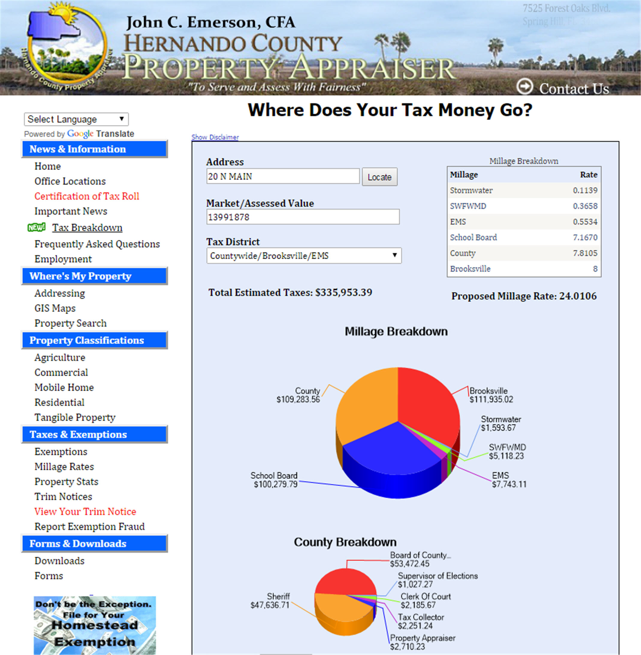 Hernando County Property Tax Search